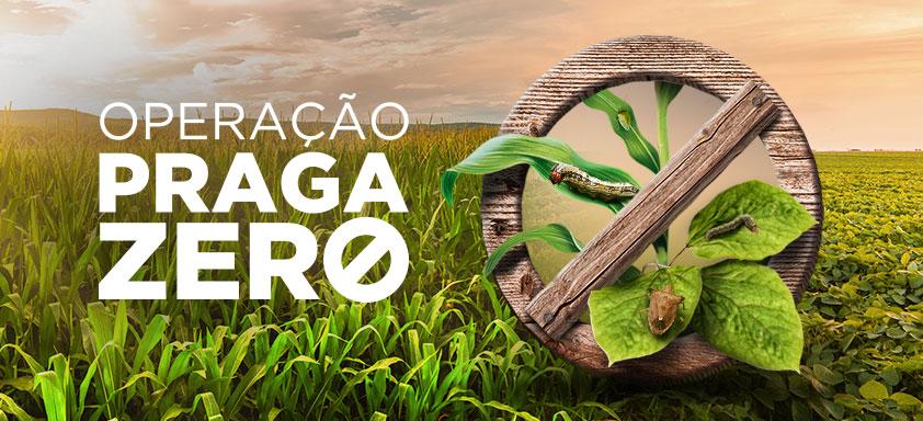 Operação Praga Zero leva conhecimento e tecnologia a produtores para proteger suas lavouras