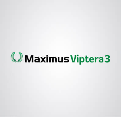 Logomarca da semente de milho Maximus Viptera 3