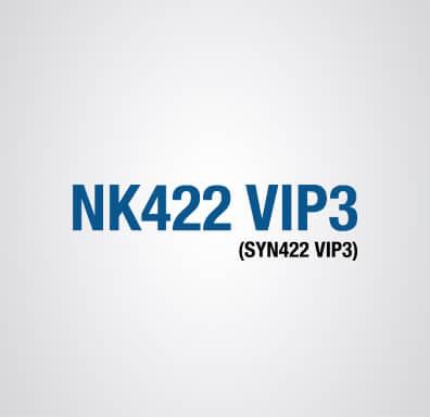 Logomarca da semente de milho NK 422 VIP3