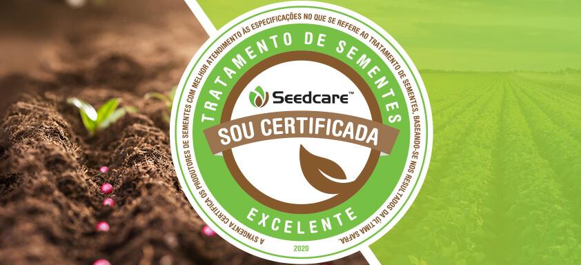 Certificação de Excelência em Tratamento de Sementes