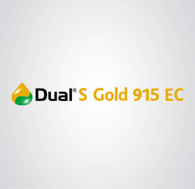 Logomarca do herbicida Dual S Gold 915 EC