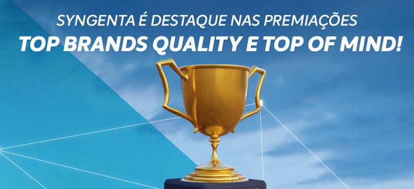 Syngenta é destaque no Top Brands Quality e Top of Mind