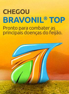 Banner do fungicida Bravonil Top
