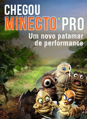 Banner do inseticida Minecto Pro