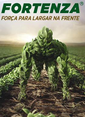 Banner do tratamento de sementes Fortenza