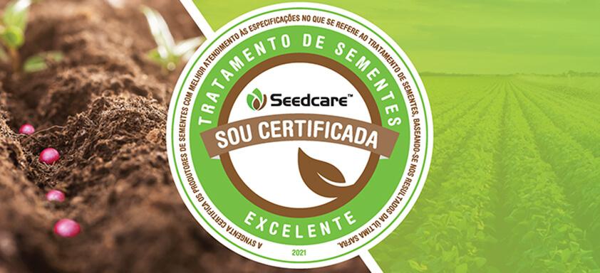 Selo Certificação Seedcare