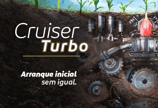 Cruiser Turbo, arranque inicial sem igual.