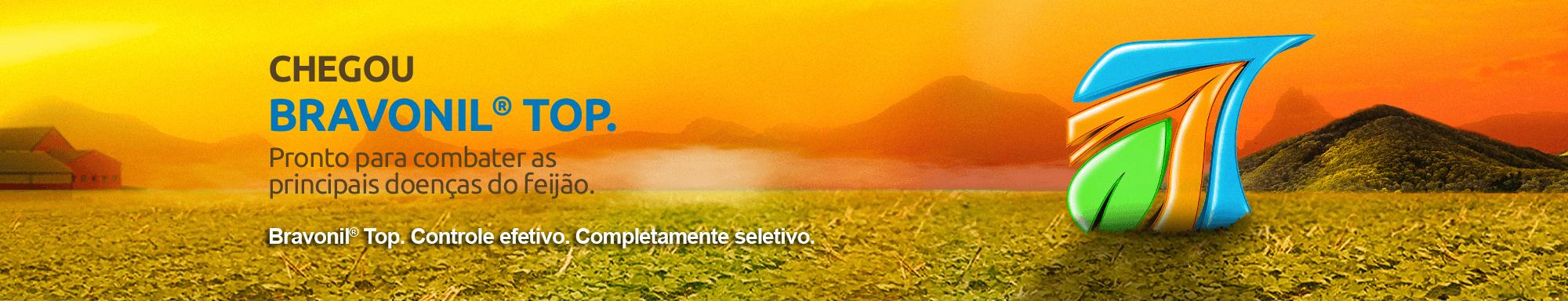Fungicida Bravonil Top combate doenças do feijão