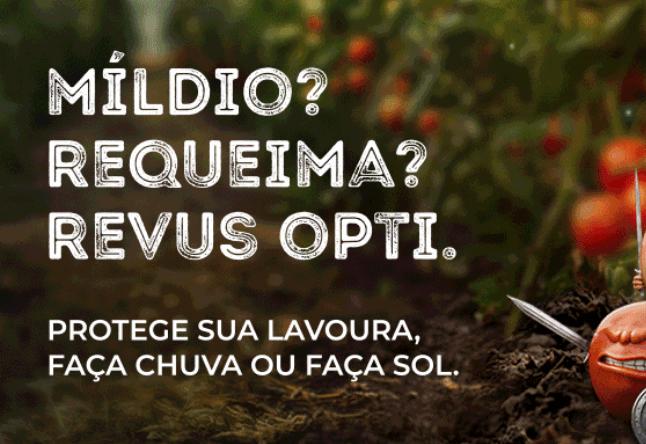 Míldio? Requeima? Revus Opti.