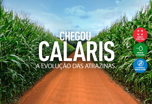 Herbicida Calaris, a evolução das atrazinas