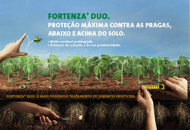 Fortenza Duo: poderoso tratamento de sementes inseticida