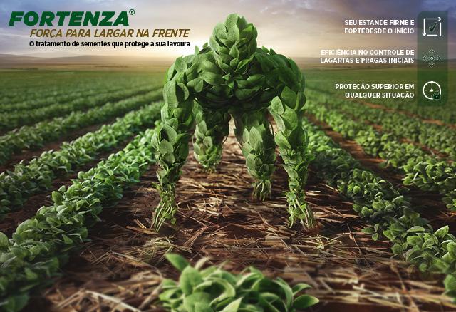 Tratamento de sementes Fortenza protege a lavoura