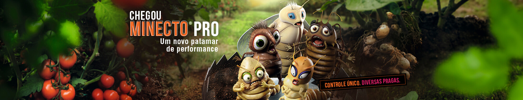 Minecto Pro é inseticida para controle de diversas pragas