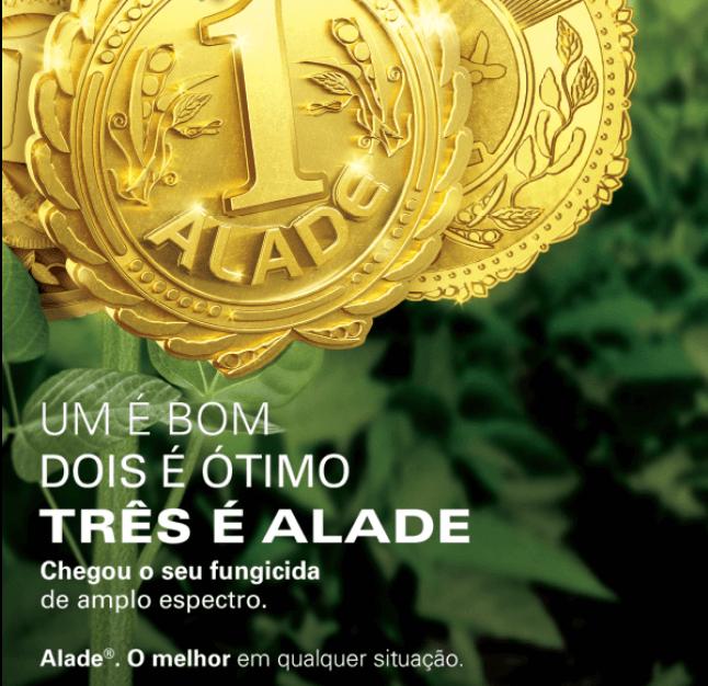 Alade: o melhor em qualquer situação.