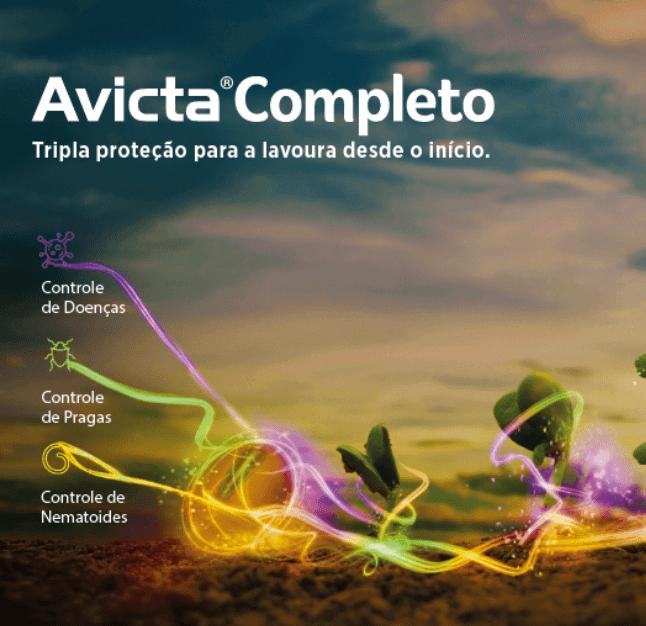 Avicta Completo: tripla ação para a lavoura desde o início.