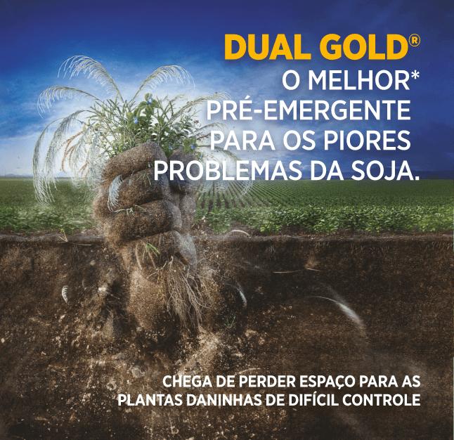 Dual Gold: Herbicida pré-emergente