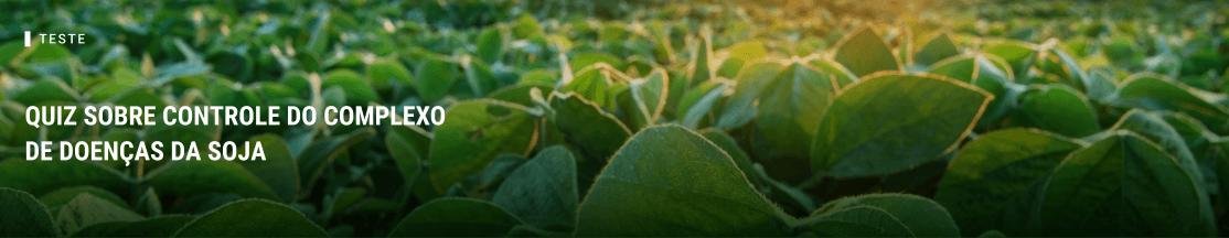 Quiz sobre controle do complexo de doenças da soja